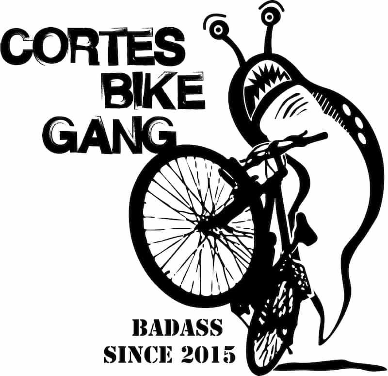 CBC logo = slug on a bike