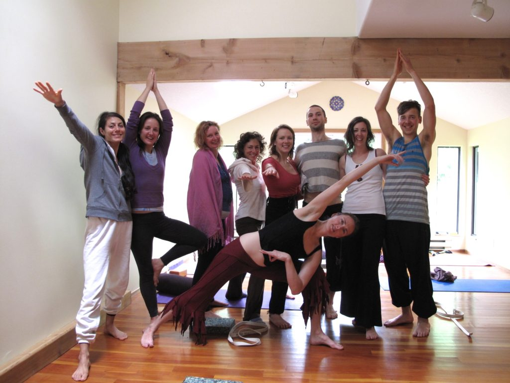 Yoga Workshop Group picture