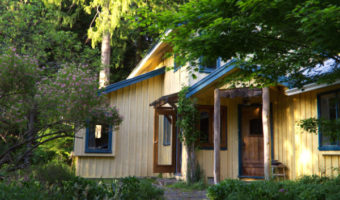 Moonhill yellow house front